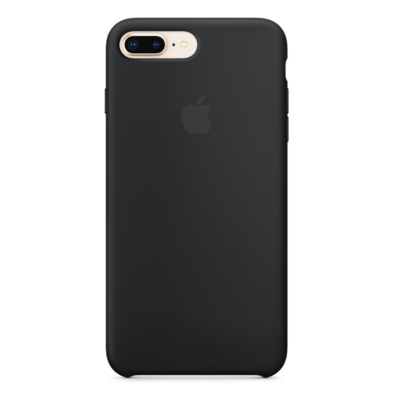 Apple iPhone 7/8 Plus Silicone Case Black