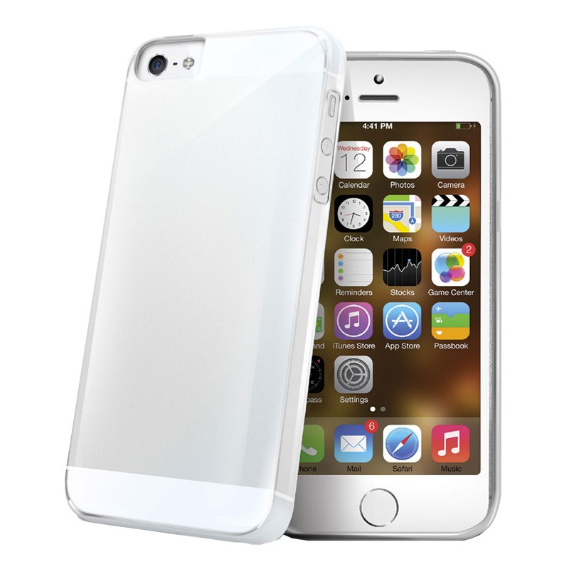 Celly TPU Clear cover iPhone 5S/SE