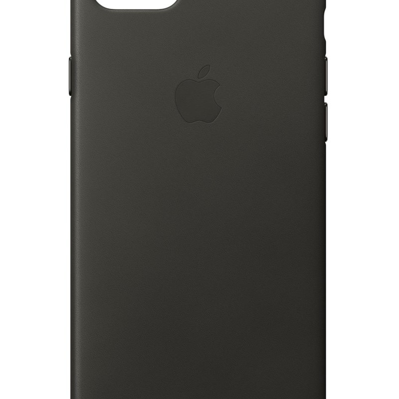 Apple iPhone 7/8 Leather Case Charcoal Gray