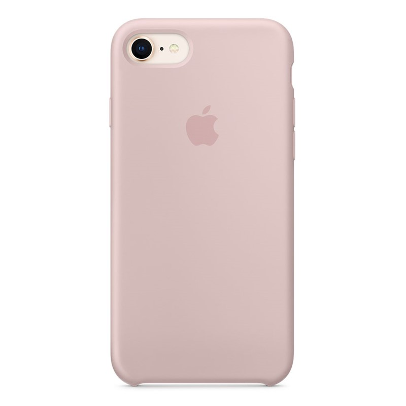 Apple iPhone 7/8/SE 2020 Silicone Case Pink Sand