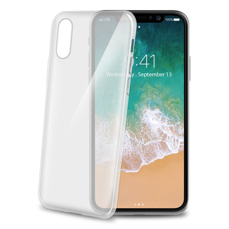 Celly TPU Clear Cover iPhone X