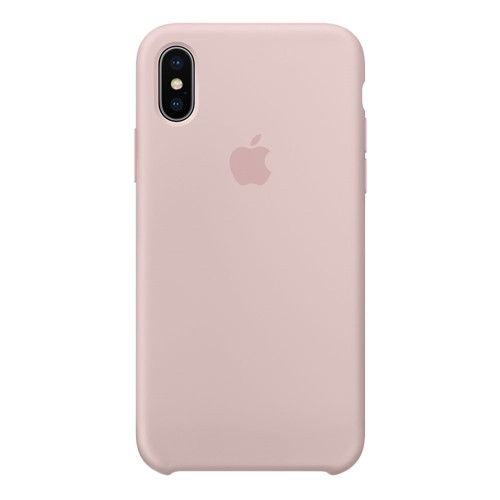 Apple iPhone X Silicone Case Pink Sand