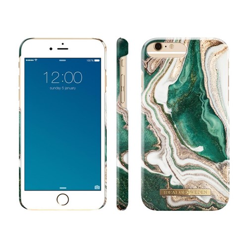 iDeal of Sweden, iDeal Fashion Case, Golden Jade Marble iPhone 6/6S/7/8