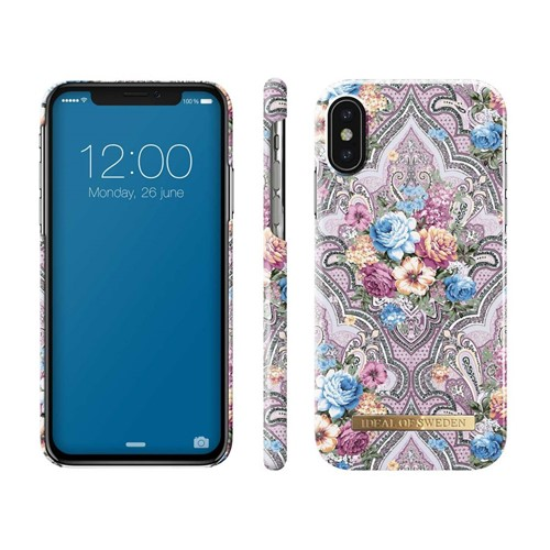 iDeal of Sweden, Fashion Case, Romantic Paisley iPhone XS