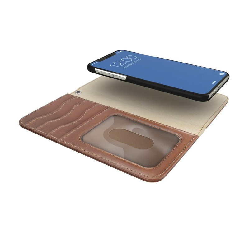 iDeal of Sweden, MagnetWallet+ iPhone Brown iPhone XS Max