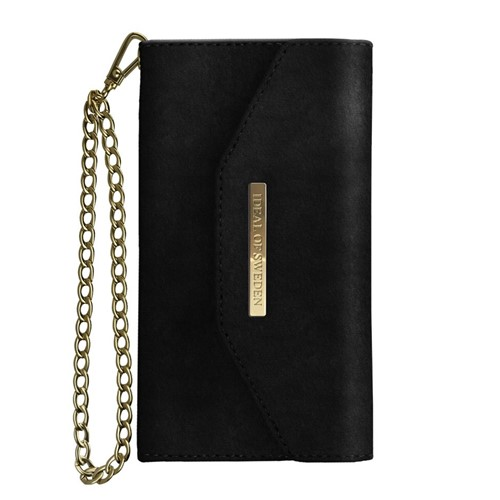 iDeal of Sweden, Mayfair Clutch Velvet, Black iPhone XR