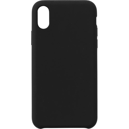 eSTUFF, Easy Grip, Silicone Case, iPhone XR, Black