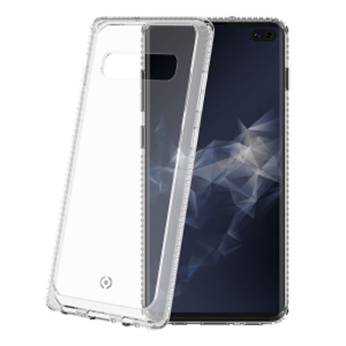 Samsung S10+ Celly Hexalite Cover White