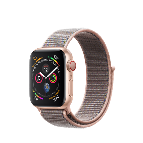 Apple Watch Series 4 eSim, 40mm Gold Aluminium Case with Loop