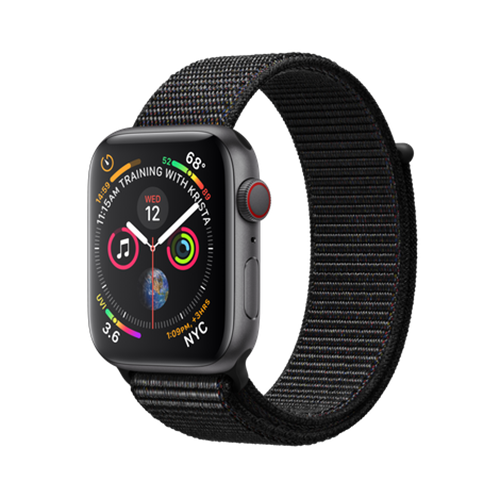 Apple Watch Series 4 eSim, 44mm Space Grey Aluminium Case with Loop