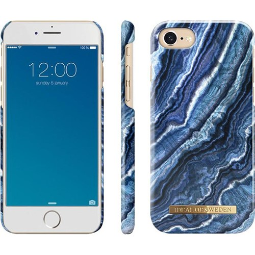 Ideal Of Sweden Fashion Case Indigo Swirl iPhone 6/7/8