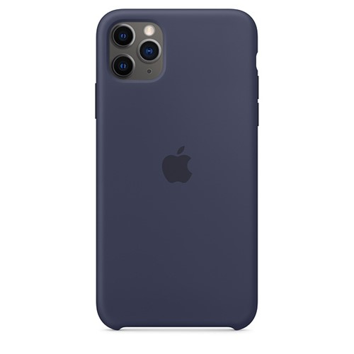 Apple iPhone 11 Pro Max Silecone Case - Midnight Blue