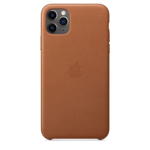 Apple iPhone 11 Pro Leather Case - Saddel Brown