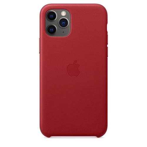 Apple iPhone 11 Pro Leather Cover - (Product) Red