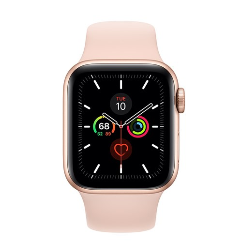 Apple Watch Series 5 40mm + Cellular Gold Alu Case - Pink Sand Sport Band