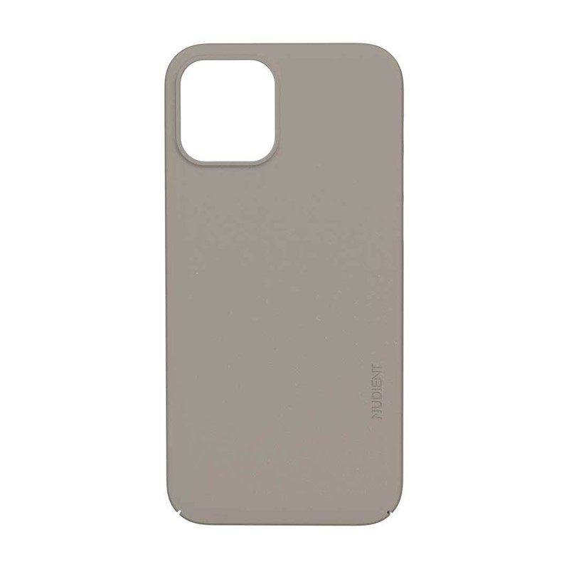 Nudient Thin Case V3 iPhone 12 / 12 Pro - Clay Beige