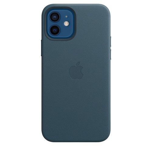 Apple iPhone 12 / 12 Pro Leather Case - Baltic Blue