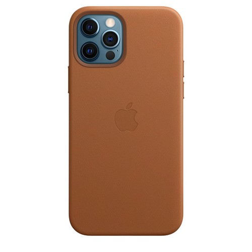 Apple iPhone 12 Pro Max Leather Case - Saddle Brown