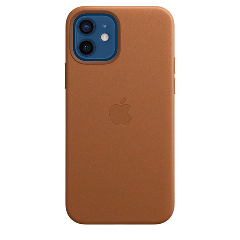 Apple iPhone 12 / 12 Pro Leather Case - Saddle Brown