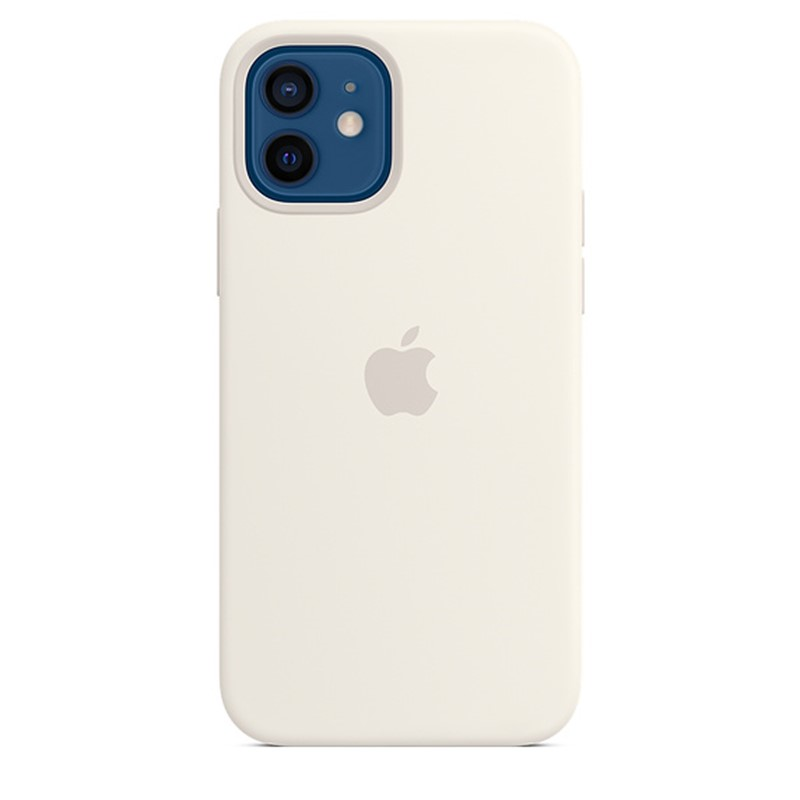 Apple iPhone 12/12 Pro Silicone Case - White