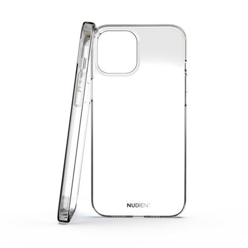 NUDIENT Transparent iPhone 12 Pro Max