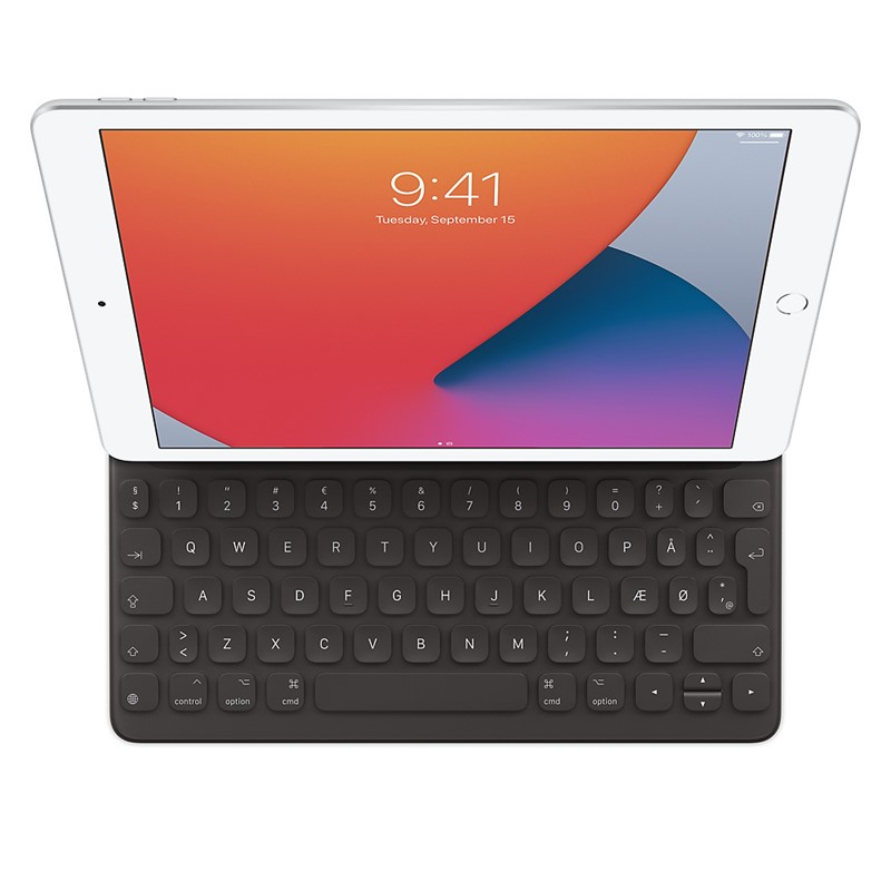 Apple Smart Keyboard til iPad (7/8. generation) – dansk
